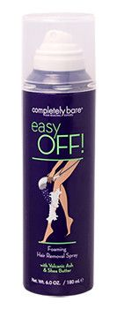 Easy Off! - NEW! Foaming Hair Removal Spray