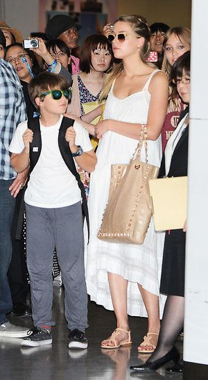 Johnny Depp + Amber Heard: Amber Heard mit Johnnys Sohn Jack
