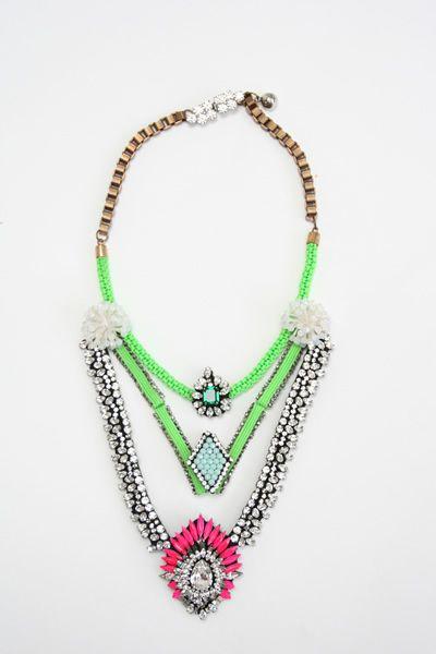 Shourouk Mumba Devi Necklace