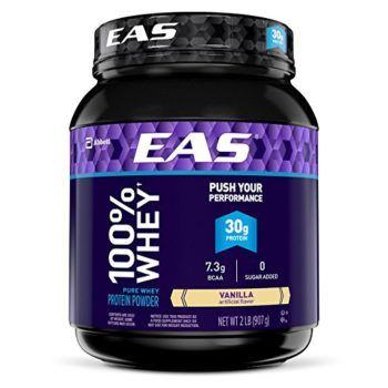 Amazon: EAS 100% Pure Whey Protein Powder, Vanilla, 2 lb ONLY $12.59 Shipped