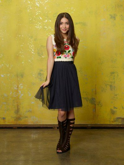 Rowan Blanchard as Riley Matthews in Disney's Girl Meets World