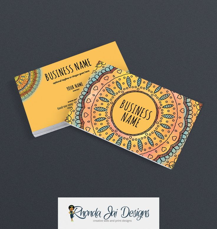 57 best Etsy Business Cards images on Pinterest   Business card ...
