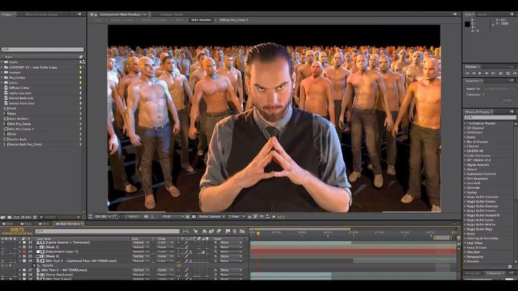 """CGI & VFX Making of: """"De Staat - Witch Doctor (Official Video)"""" - by Stu..."""