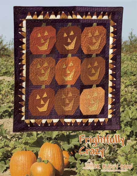 The Buggy Barn: Frightfully Crazy Quilt Pattern