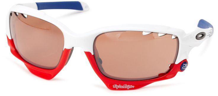 Oakley Racing Jacket OO9171-22 Iridium Sport Sunglasses,Polished White,55 mm
