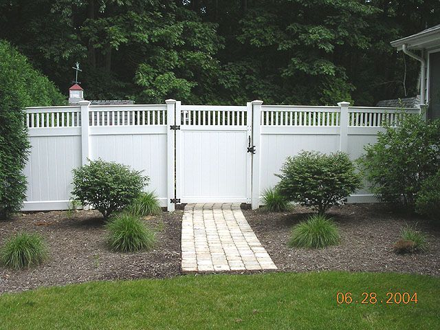vinyl privacy fence - Google Search