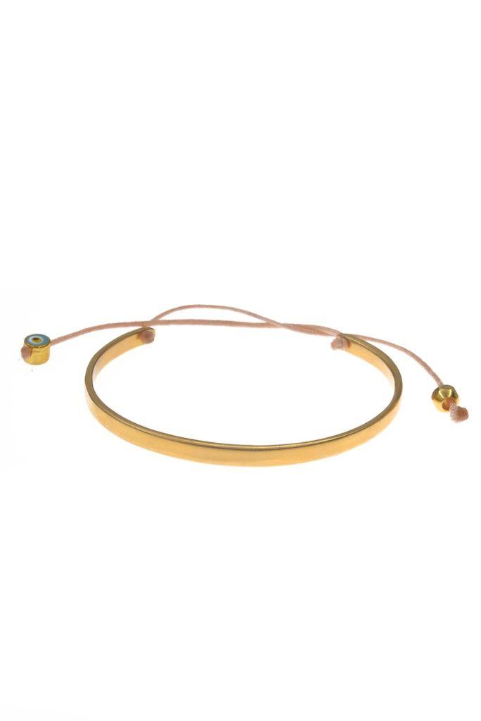 Gold cuff -