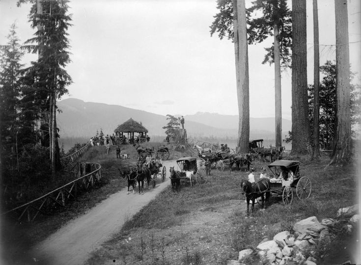 Prospect Point circa 1890 Stanley Park photo gallery | City of Vancouver