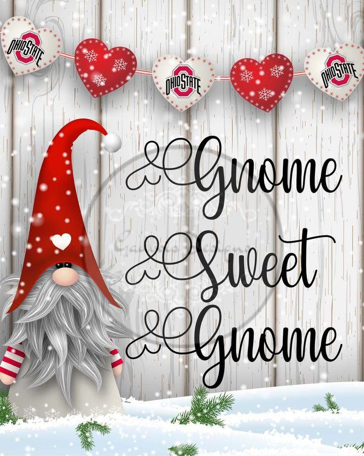Gnome Sweet Gnome Digital Download Printable Sign