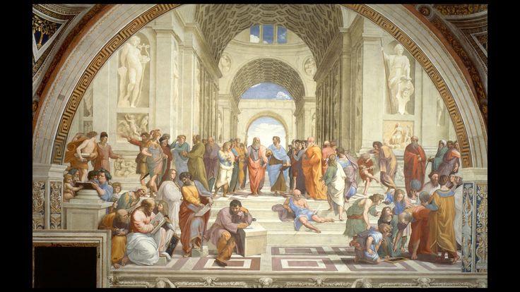 Scuola di Atene-Raffaello