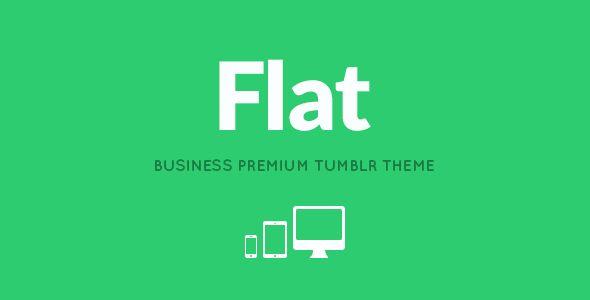 FLAT - Responsive Business Tumblr Theme - Business Tumblr