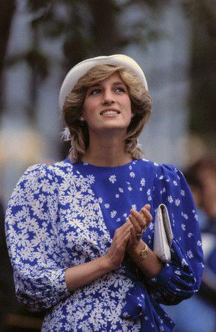 Принцесса Диана придерживалась делового и романтического стилей (1983 год)