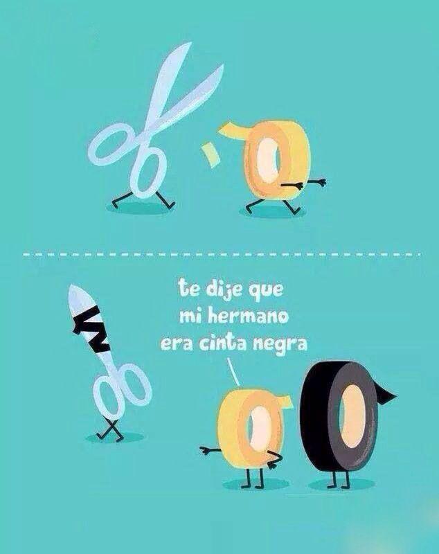 Cinta negra - Happy drawings :) #compartirvideos #felizcumple #imagenesdivertidas