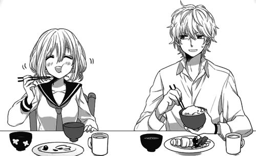 From Honeyworks #manga couple #cute