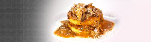 A tasty tower of deliciousness with polenta and mushrooms that will have you coming back for polenty more.  Clinton Kelly's recipe from The Chew.