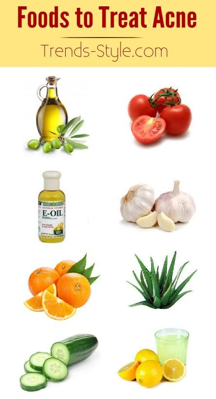 Foods to Treat Acne - Store bought chemicals can be easy to use, they aren't always the most effective and can be quite expensive. Here is a list of 8 foods that are great for treating acne and how they help!