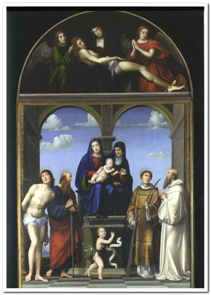 Francesco Francia - Saint Anne Altarpiece from San Frediano, Lucca. (1511-17)