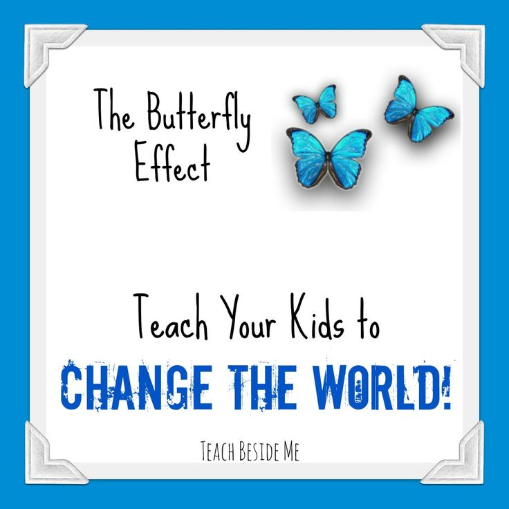 Butterfly Effect- How to Change the World
