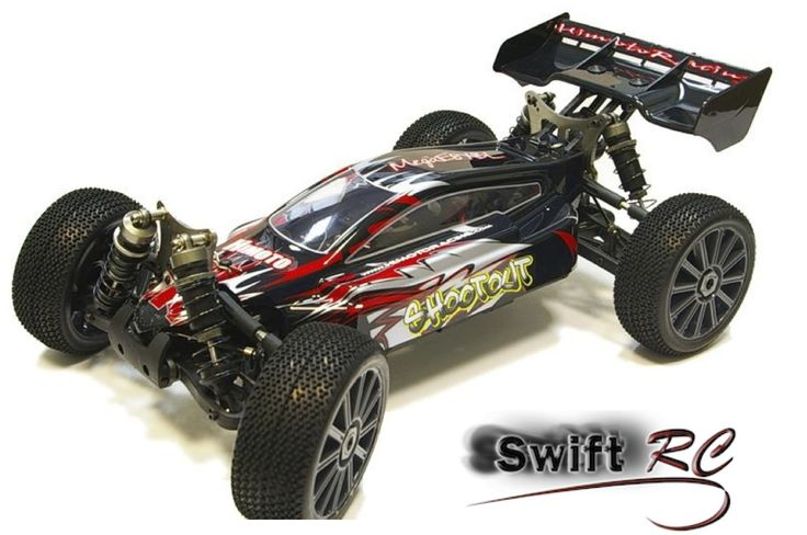 1 8 Scale RC Cars | Himoto Shootout 1/8 Scale Brushless RC Buggy