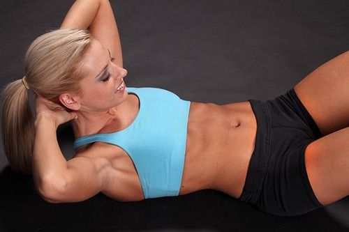 The (15 Minute) Belly Blasting Workout .  Even women who are otherwise slender and fit can end up with a belly pooch due to underworked lower abdominal muscles. This workout will tap into the deep abdominal muscles—the transverse abdominis—that pull in your waistline like a corset. Do these moves one after another with no rest in between.  Then repeat the circuit so you're performing it a total of two times.