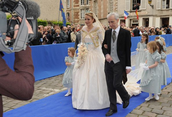 Prince Jean d'Orleans, Duke of Vendome's Wedding to Princess Philomena d'Orleans in Christian Lacroix