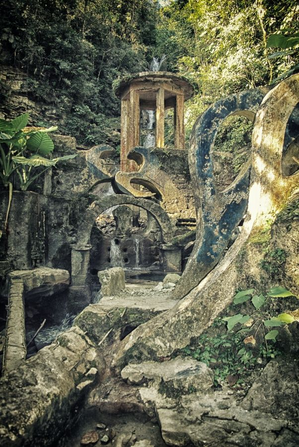 """Mexico century""""ss ago Xilitla_19 by Nathan Goldenzweig Photography on 500px"""