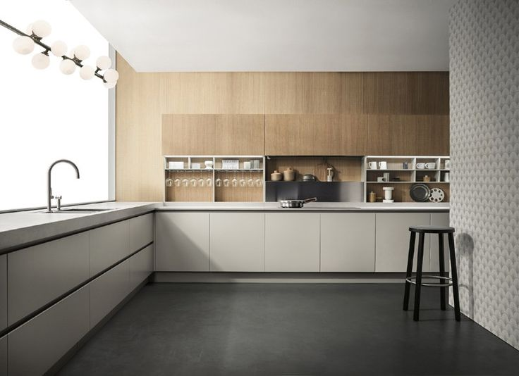 Kitchen EMETRICA by ERNESTOMEDA design Alessandro Andreucci