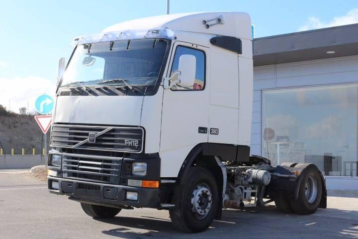 Volvo FH12 380 - Portugal - TruckStar ID - 1936 VOLVO FH 12 380 Year : 1995/5 4X2 - EURO 2 Engine - EC93 D12A380 Displacement : 12.130... - Mascus Portugal