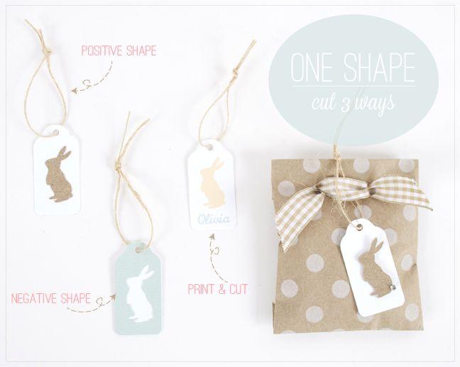 One Shape...cut 3 Ways & a Giveaway!