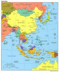 asia map - Google Search