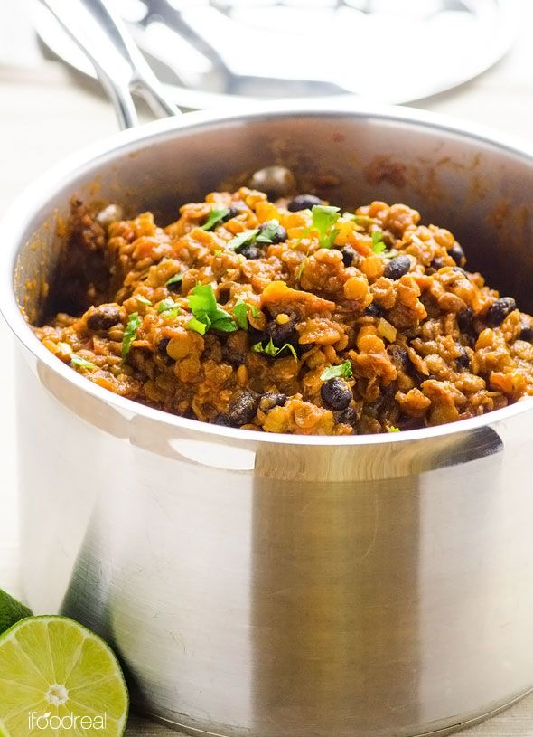 lentil chili with smoked paprika black bean chili black beans bean ...