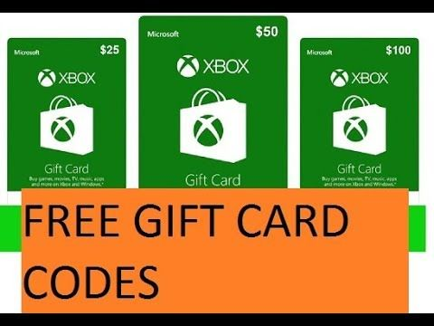 10, 25, 50$ Free xbox live codes generator / Xbox gift card codes
