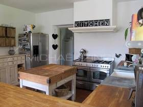 Luxury real estate in Rognes, France - House in Rognes - JamesEdition old style kitchen wood