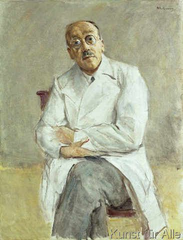 Max Liebermann - The Surgeon, Ferdinand Sauerbruch, 1932