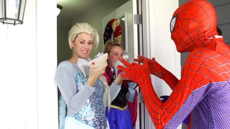 Spiderman, Elsa & Anna vs Joker! Wedding and Kisses! Superheroes in Real Life :)  Thank you for watching and don't forget to subscribe for more videos: https://www.youtube.com/channel/UC7d_QqnG5lU4diPaNhK836g
