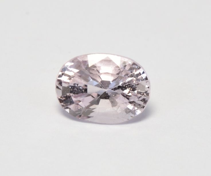 White pinkish spinel from Mogok, Myanmar  #spinel #mogok #gemstones