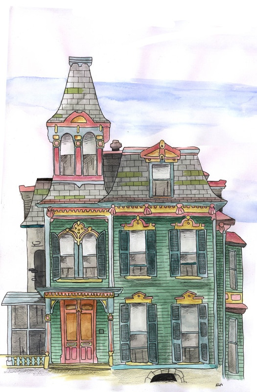 395 Best Pen/Ink Buildings Images On Pinterest