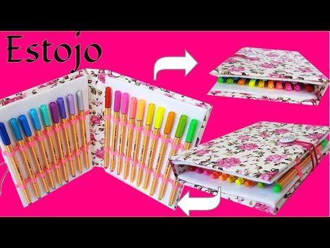 DIY - Estojo com Caixa de Leite - Back to School - Segredos de Aline - YouTube