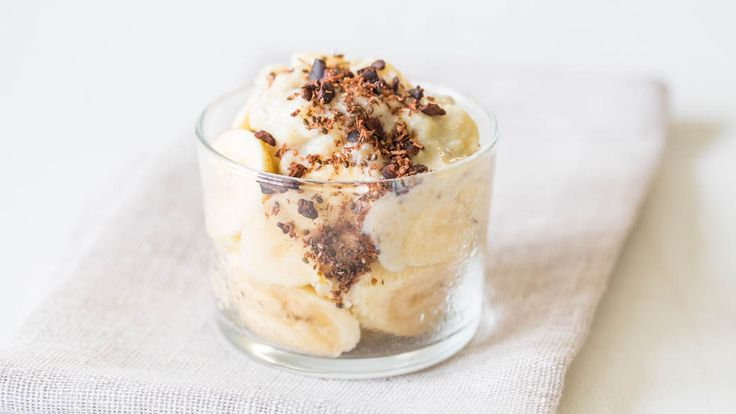 Warm Vegan Banana Chia Pudding