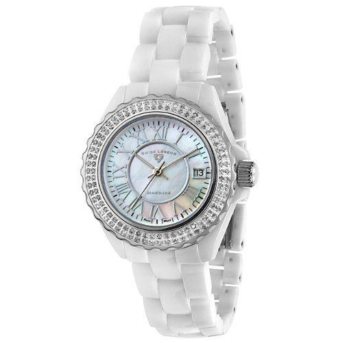 Swiss Legend Women`s 20051-WWWSR Karamica Diamonds Collection Watch $375.50