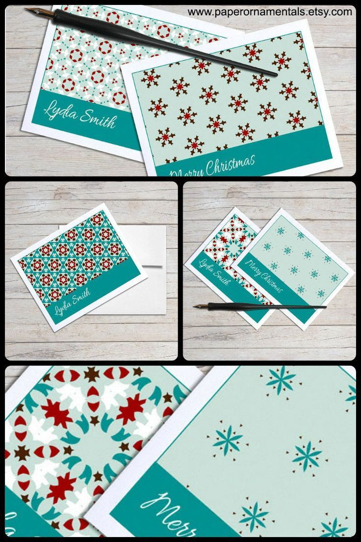 Christmas Notecard.Personalized Note Cards Holiday Cards Christmas Notecard