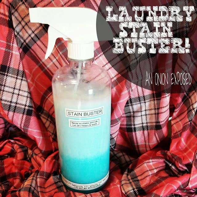 Laundry Stain Buster {An Onion Exposed}