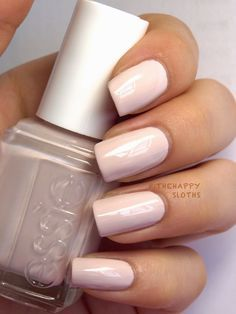 """Urban Jungle: """"Irresistible alabaster orchid"""" This one is a dusty nude with a slight pinkish gray tint. The formulation is really good for such a light color. I used three coats but if you are skillful, two would probably do."""