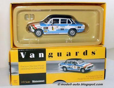 Mein Blog über Modellautos: Vanguards Triumph Dolomite Sprint 1978 Saloon Car Limitiert