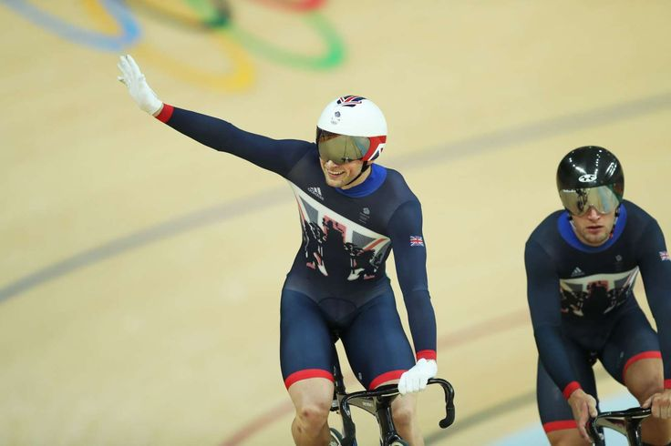 Cycled to victory:    Jason Kenny of Great Britain celebrates gold in the final of the Men's Sprint.       -  2016 Rio Olympics: Highs and lows from Day 9