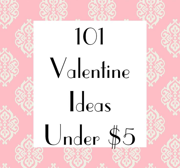some great ideas here--Mud Pie Studio: 101 Valentine Ideas for under $5