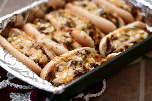 Oven Hot Dogs.  Made these for supper Friday night and they are AWESOME!