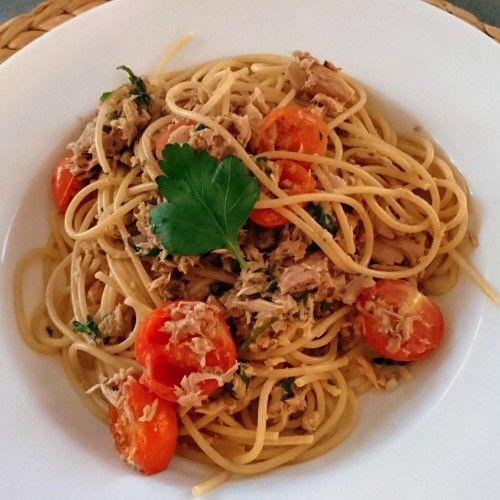 Spaghetti tuńczykowe