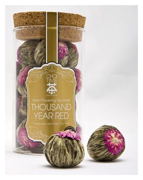 Each tea bulb is handmade from the finest quality white needle green tea then hand-woven with an exotic flower, giving further health benefits.   Each flowering tea bulb will provide you with a minimum of 1.5L- 5L of tea.
