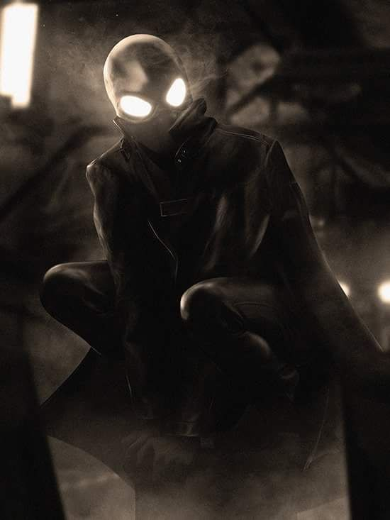 #Spiderman #Noir #Fan #Art. (Spider-Man Noir) By: BossLogic. (THE * 5 * STÅR * ÅWARD * OF: * AW YEAH, IT'S MAJOR ÅWESOMENESS!!!™)[THANK Ü 4 PINNING!!!<·><]<©>ÅÅÅ+(OB4E)             https://s-media-cache-ak0.pinimg.com/474x/db/95/17/db9517b2464cb0005499b706d88b8f28.jpg